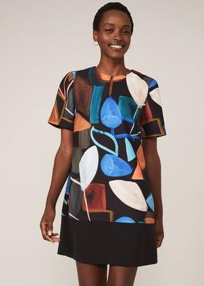 Phase Eight Nemi Shape Print Tunic Dress