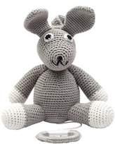 natureZOO Grey Mr. Rabbit Musical Toy