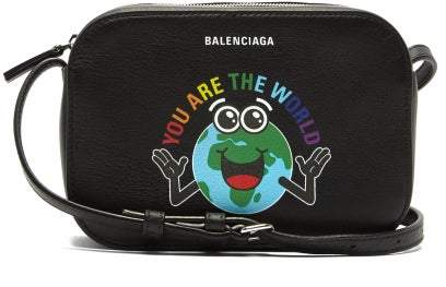 5329aad6dcd Balenciaga Black Leather Crossbody Handbags - ShopStyle