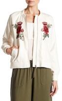 Jack Varis Embroidered Bomber Jacket