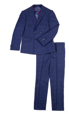 Isaac Mizrahi Plaid Print 2-Piece Suit (Toddler, Little Boys, & Big Boys)