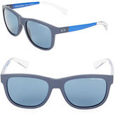 Armani Exchange AX4054S 55mm Wayfarer Sunglasses