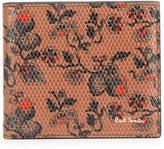 Paul Smith 'Logan Floral' print wallet