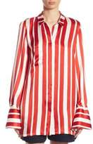 Mother of Pearl Aspen Candy Striped Blouse
