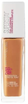 Maybelline Superstay Full Coverage Foundation - Tan Shades - 1 fl oz