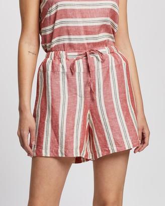KAJA Clothing - Women's Red Shorts - Rita Shorts - Size One Size, L at The Iconic