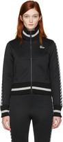 Off-White Black Diagonal 'Woman' Track Jacket