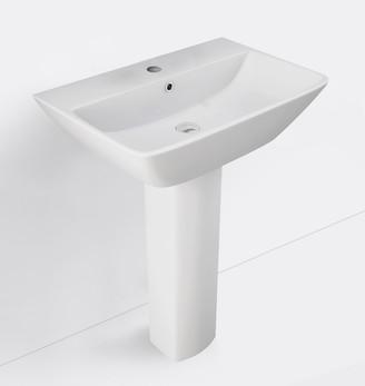 Rejuvenation Aspen Single Hole Pedestal Sink