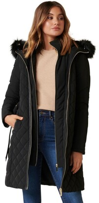 Forever New Sally Quilted Puffa