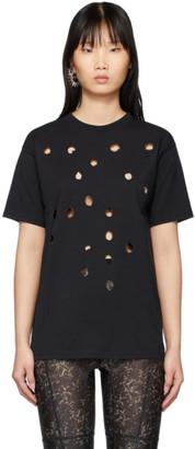 Ottolinger SSENSE Exclusive Black Burned T-Shirt