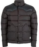Penfield Pelam Leather Yoke Down Jacket - Men's
