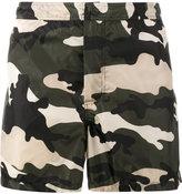 Valentino Rockstud camouflage swim shorts - men - Polyamide - 44