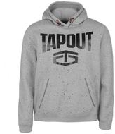 Tapout Mens Splatter OTH Hoodie Hoody Hooded Top Long Sleeve Kangaroo Pocket