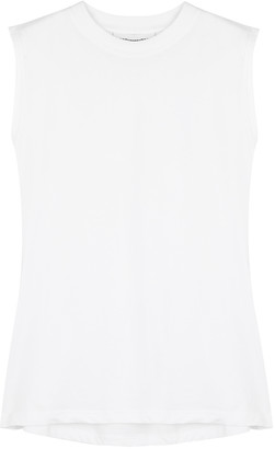 H2OFAGERHOLT Part One White Cotton Tank