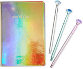 Celebrate Shop Metallic Notebook Set, Only at Macy's