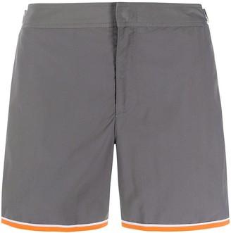 Orlebar Brown Contrast-Trim Swim Shorts