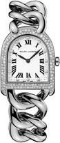 Ralph Lauren Petite-Link Steel Diamonds
