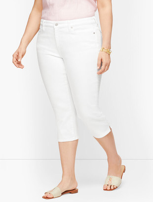 Talbots Plus Size Exclusive Pedal Pusher Jeans