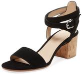 Pour La Victoire Amana Suede Two-Piece Sandal