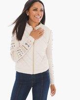 Chico's Avi Embellished-Sleeve Jacket