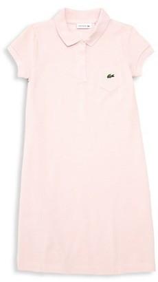 Lacoste Little Girl's & Girl's Cotton Pique Polo Dress