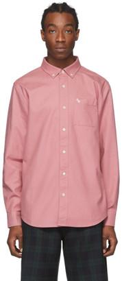 Aimé Leon Dore Pink Solid Oxford Shirt