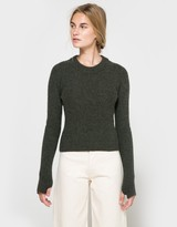 Lemaire Short Sweater in Spruce