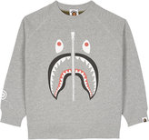 A Bathing Ape Shark camouflage cotton jumper 4-8 years