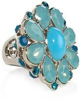 Dior Indinight Large Ring, Turquoise