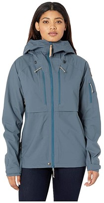 Fjallraven Keb Eco-Shell Jacket W (Dark Navy) Women's Coat