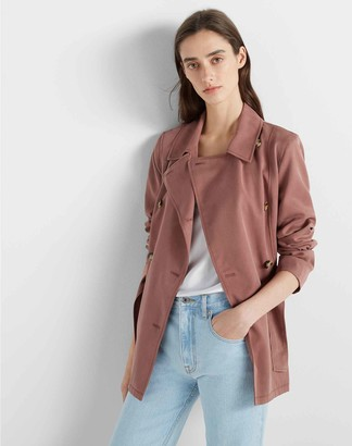 Club Monaco Soft Trench