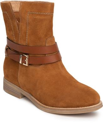 Nero Giardini Mix-Leather Ankle Buckle Booties