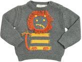 Stella McCartney Lion Cotton & Cashmere Tricot Sweater