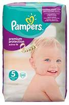 Pampers Active Fit Size 5 (Junior) Carry Pack 20 Nappies