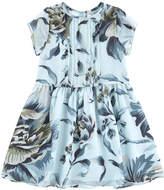 Burberry Silk voile dress