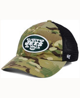 '47 New York Jets Compass Relaxed CLOSER Cap
