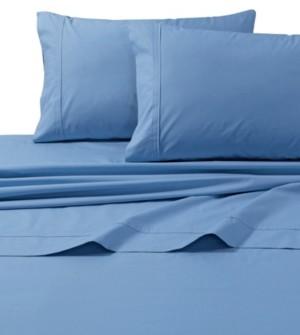 Tribeca Living 300 Thread Count Cotton Percale Extra Deep Pocket Cal King Sheet Set Bedding