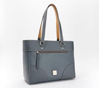 Dooney & Bourke Beacon Leather Zip-Top Large Tote - Mila