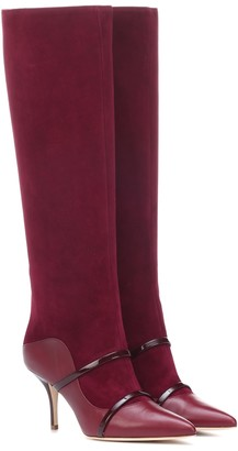 Malone Souliers Madison 70 suede knee-high boots