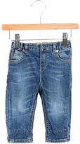 Burberry Girls' Elasticized Five Pocket Jeans