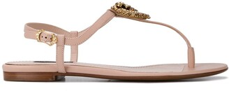 Dolce & Gabbana Devotion T-strap sandals