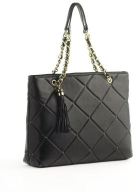 PARADOX Quilted Leather Tote Bag