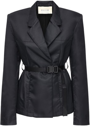 Alyx Tailored Nylon Blazer W/ Belt
