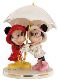 Lenox Mickey & Minnie Singing In The Rain Fig