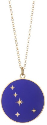 Bare Constellation 18K Yellow Gold Cancer Pendant Necklace