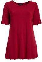 Rumba Red Bell-Sleeve Tunic - Plus