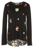 Rene Derhy Floral-Print Crew-Neck T-Shirt