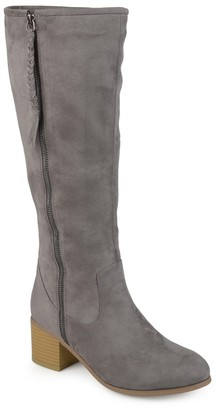 Journee Collection Sanora Knee High Boot - Wide Calf