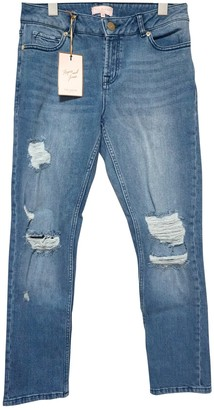 Ted Baker Blue Cotton Jeans for Women