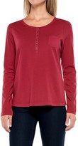 Aventura Clothing Evelyn Henley Shirt - Long Sleeve (For Women)